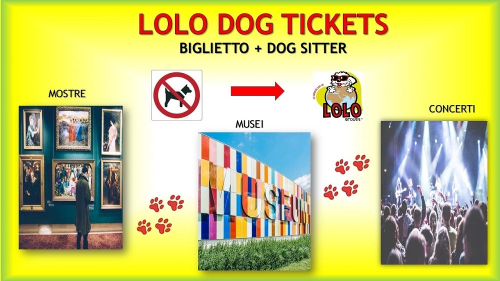 LOLO Dog Tickets - LOLO Groups